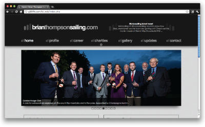 brian thompson website preview